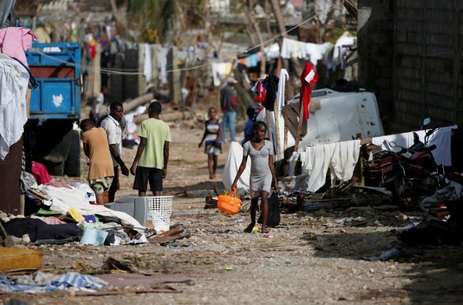 Haitį nusiaubė uraganas