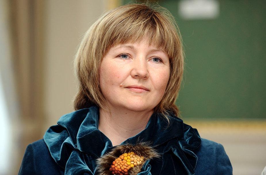 Lazdijų krašto muziejaus direktorė Daina Pledienė