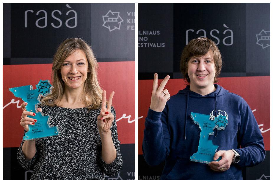 Gabija Jaraminaitė ir Marius Repšys