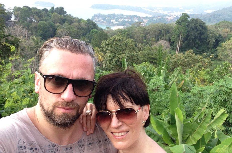Julijos Maslinskajos-Ulvydienės atostogų Tailande akimirka