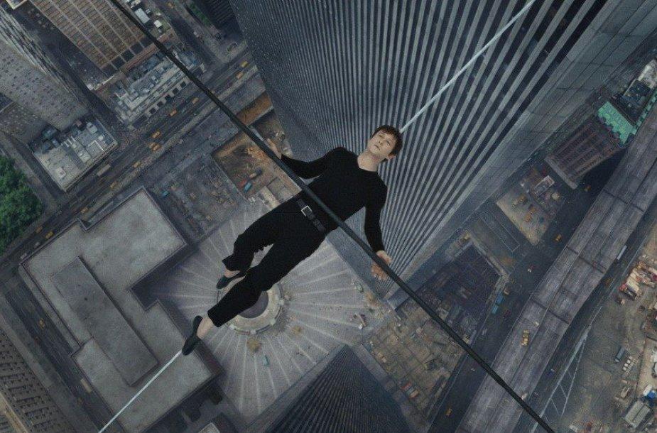 """Josephas Gordonas-Levittas filme """"Pasivaikščiojimas"""""""