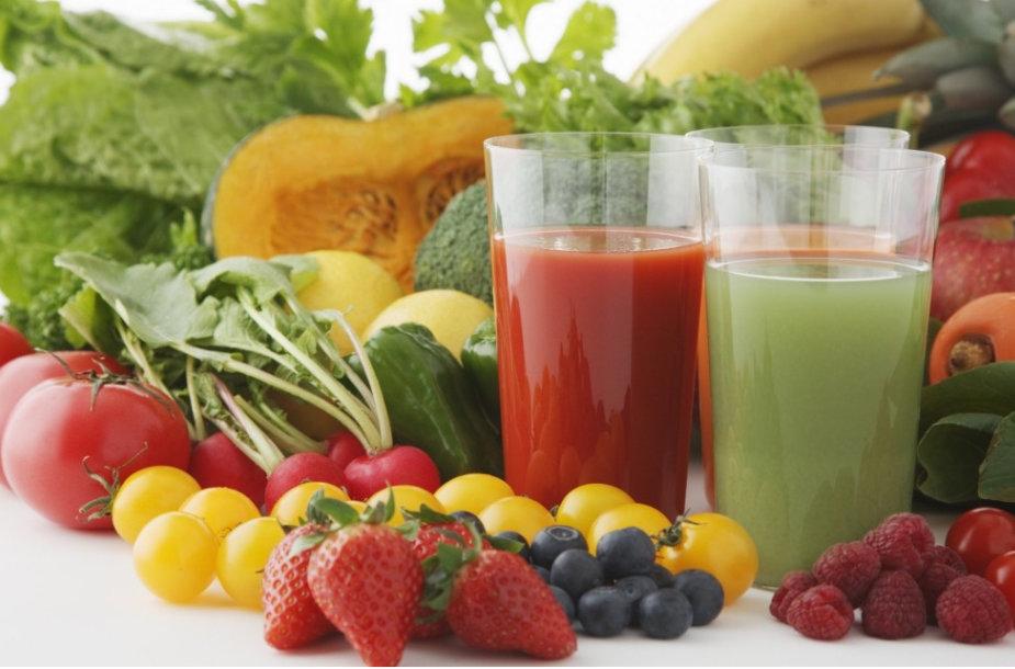 Ką renkatės – daržoves ar vaisius?