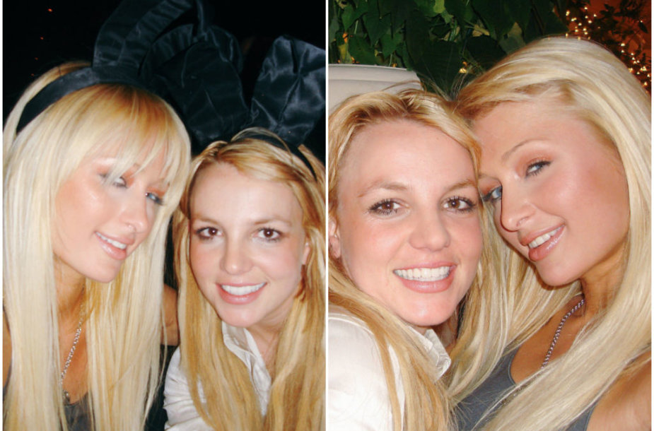 Britney Spears ir Paris Hilton