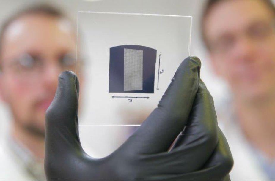 Anglies nanovamzdelių tranzistoriai