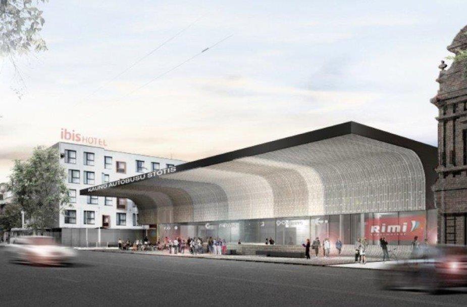 Kitų metų pavasarį ketinama pradėti Kauno autobusų stoties rekonstrukciją.
