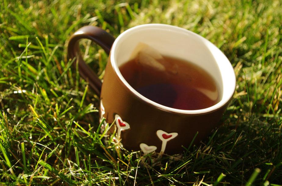Ar gerti arbatą?