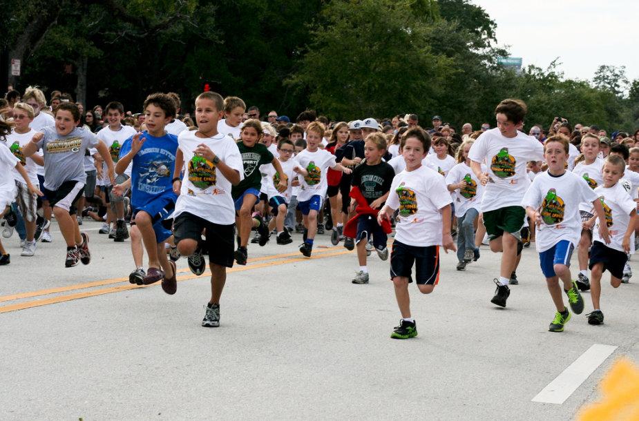 Reikia rūpintis vaikų fiziniu aktyvumu