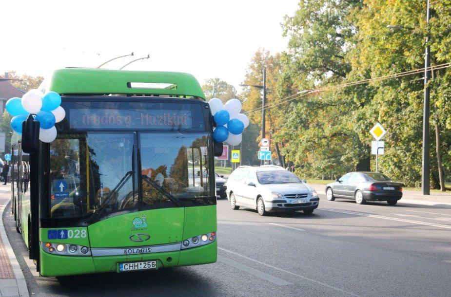 Troleibusas Kaune