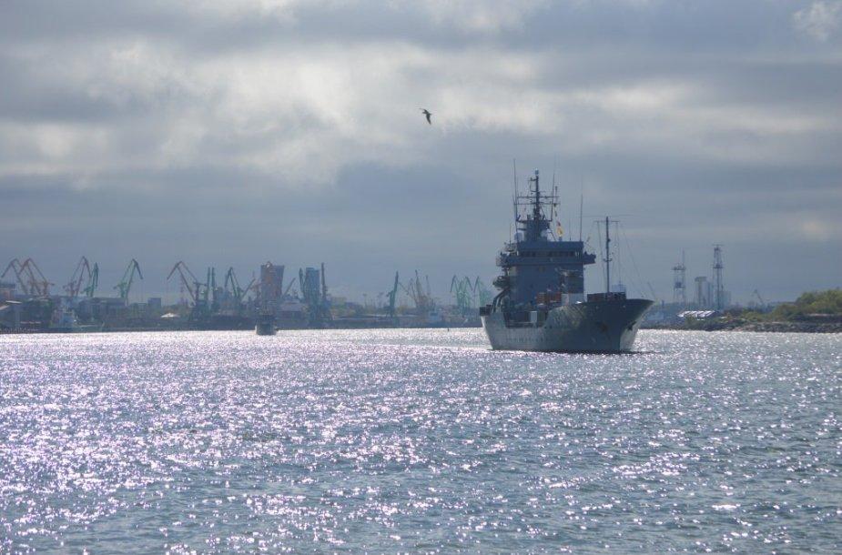 """Karinių pratybų jūroje """"Baltijos tvirtovė 2015"""" akimirkos"""