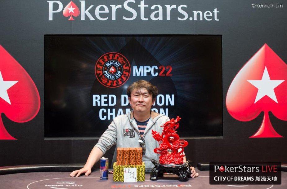 Yuguangas Li / PokerStars.net nuotr.