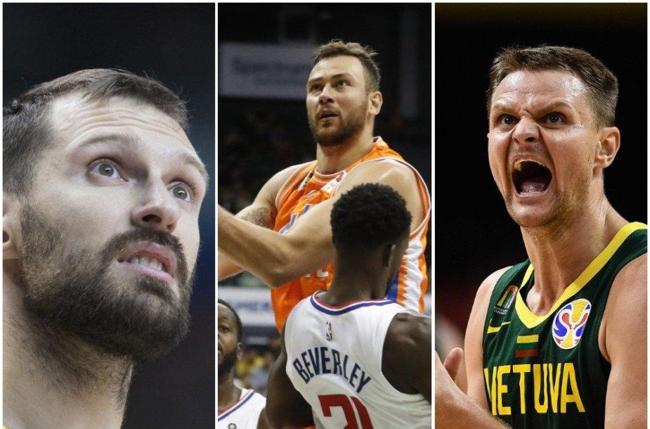 TOP 10 Lietuvos krepšininkų, kurie vis dar neturi kontraktų