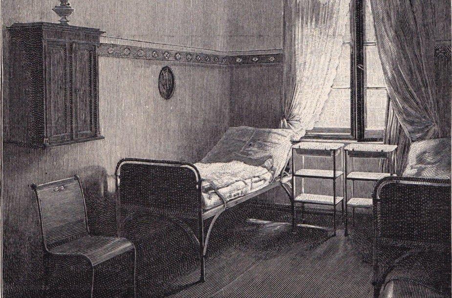 Palata Klaipėdos raupsuotųjų prieglaudoje