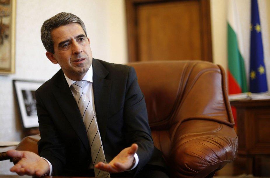 Bulgarijos prezidentas Rosenas Plevnelievas
