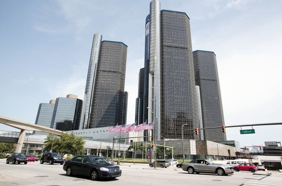 """General Motors"" būstinė Detroite"