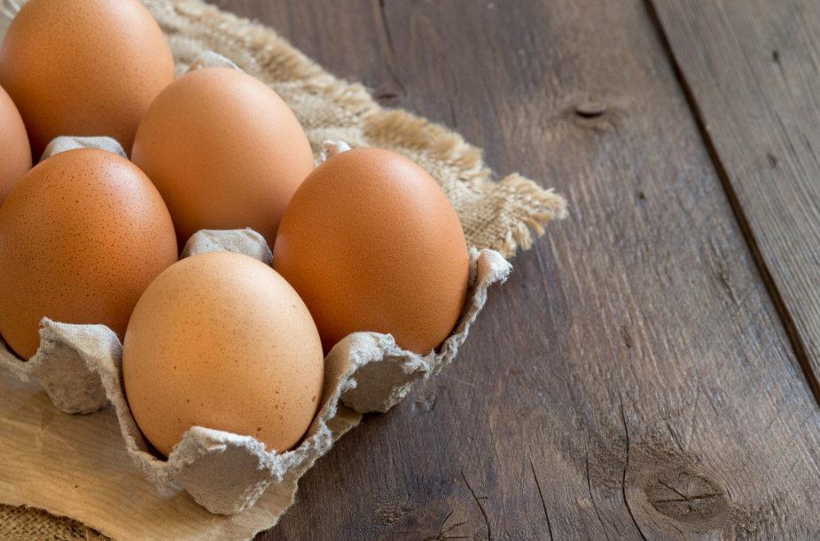 Kiaušiniai dėžutėje
