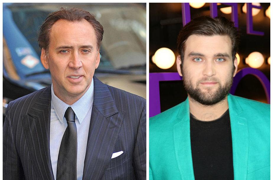 Nicolas Cage'as ir jo sūnus Westonas Cage'as
