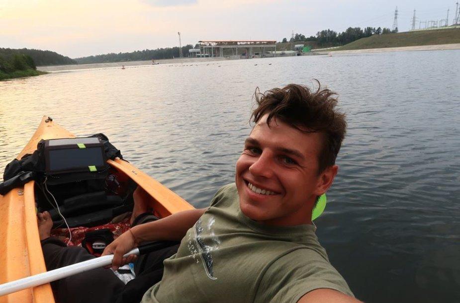 Aurimo plaukimas Baltarusijoje