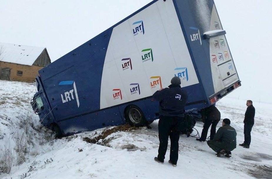 Lietuvos televizijos sunkvežimis