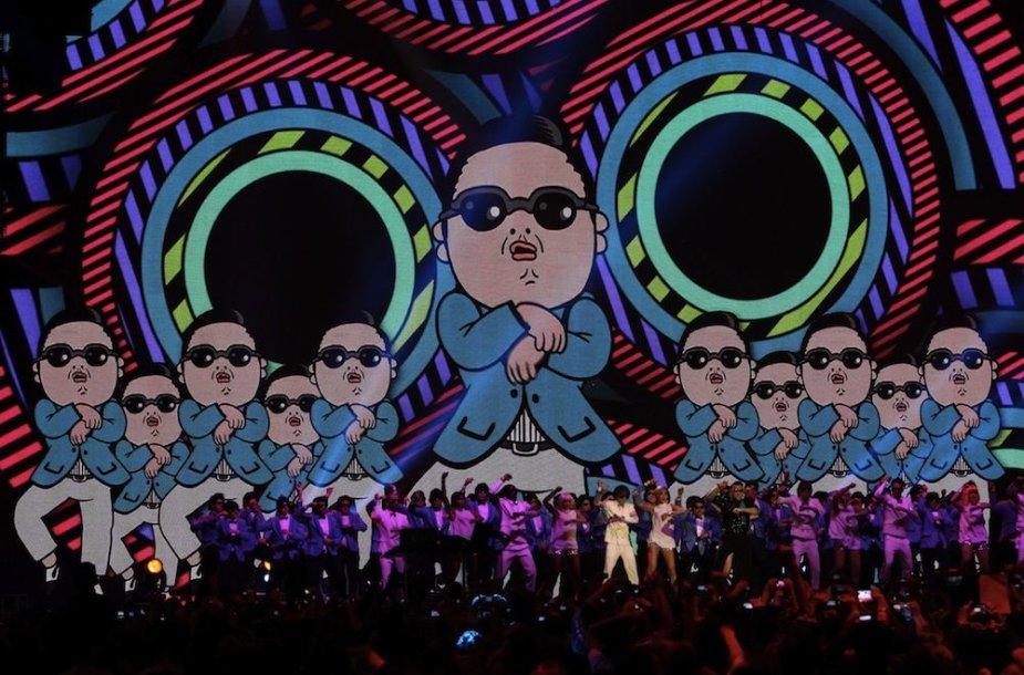 Reperio Psy mintis imituoti jojimo judesius sukrovė jam turtus.