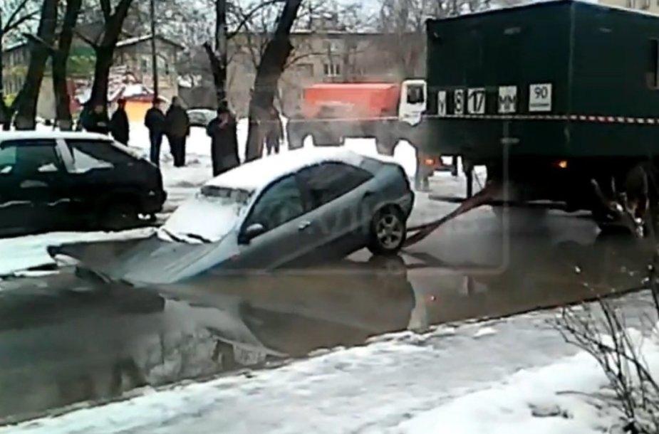 Maskvoje suplėšytas FIAT