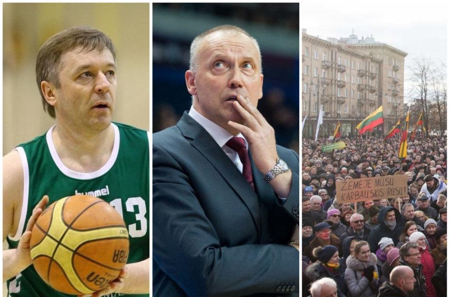Ramūnas Karbauskis, Rimas Kurtinaitis ir protestas prie Seimo