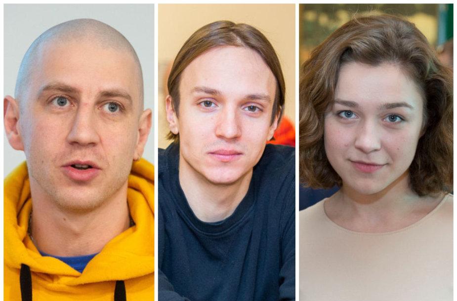Marius Repšys, Olegas Šurajevas ir Asitė Diržiūtė