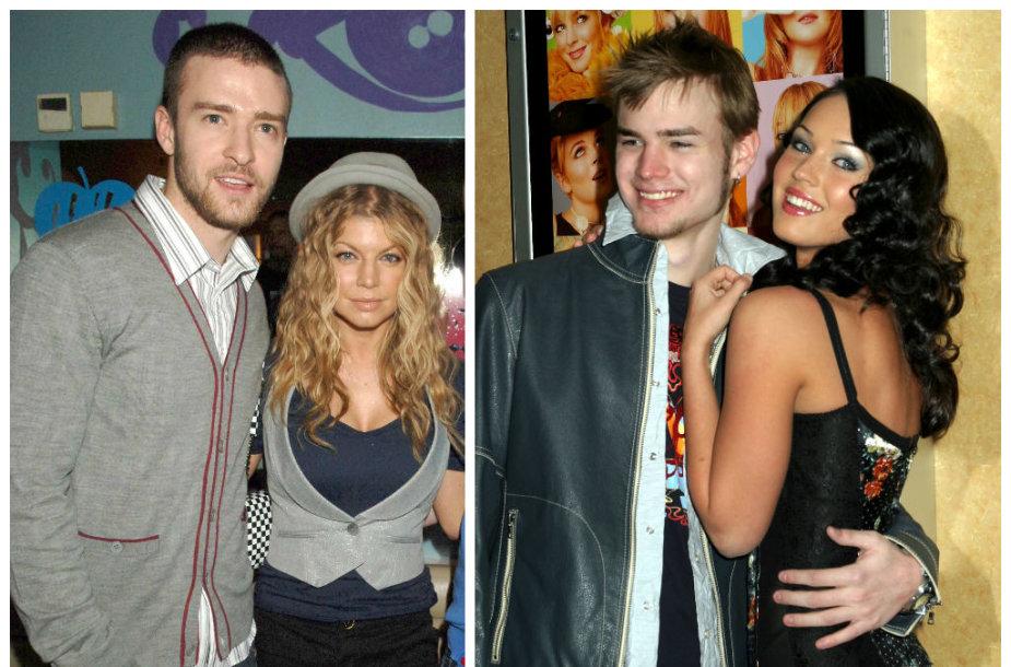 Justinas Timberlake'as su Fergie ir Megan Fox su Davidu Gallagheriu