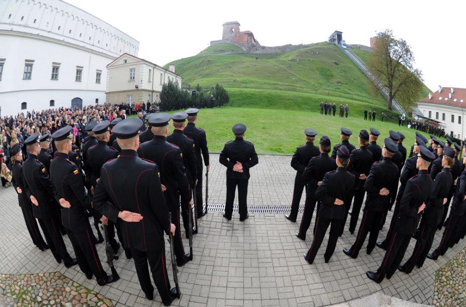 Generolo Jono Žemaičio Lietuvos karo akademijos pirmojo kurso kariūnų priesaikos ceremonija