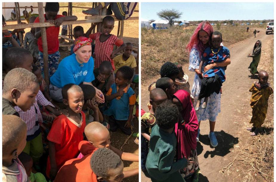 UNICEF misija Etiopijoje: Jazzu ir Karolina Meschino