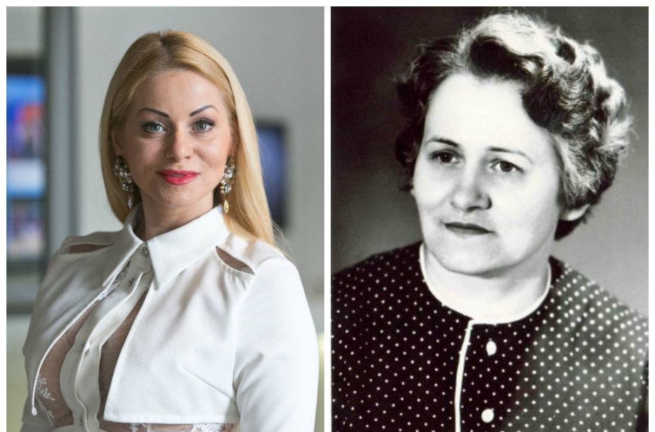 Vaida Genytė ir jos mama Danutė Marija Genienė
