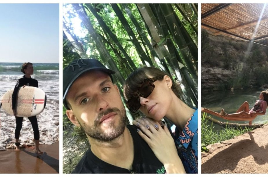 Justės Starinskaitės ir Tado Buloto atostogos