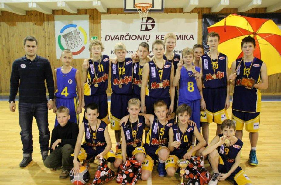 Šarūno Marčiuliono krepšinio akademijos komanda