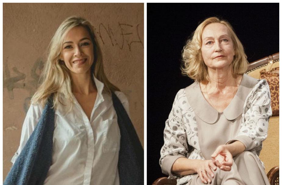 Gabija Jaraminaitė, ir Jūratė Onaitytė