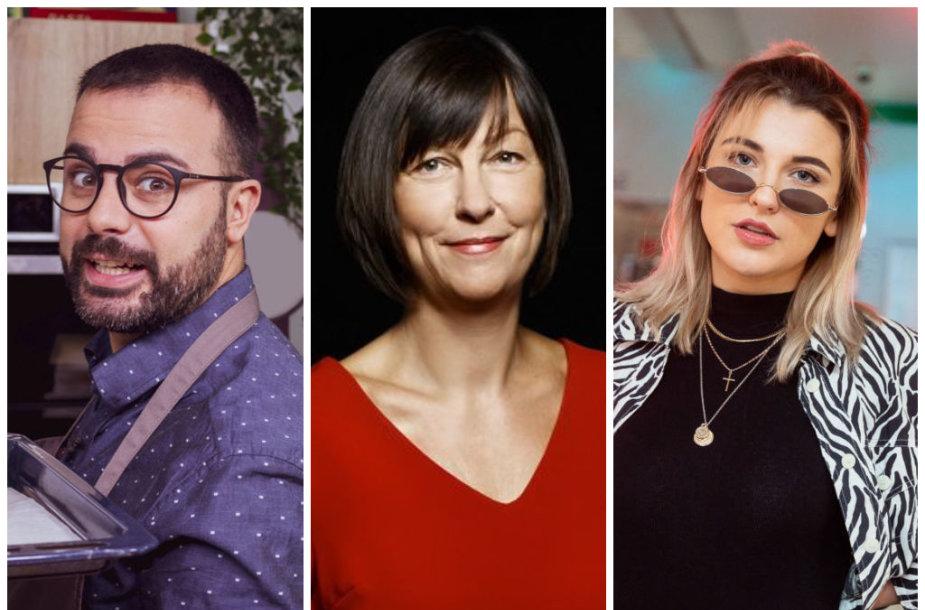 Gian Luca Demarco, Rita Miliūtė ir Viktorija Vyšniauskaitė-Cheri