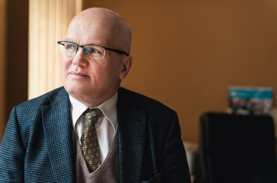 VGTU mokslo ir inovacijų prorektorius prof. habil. dr. Antanas Čenys