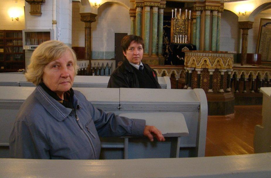 Irena Ivanova ir Žana Chlebnikova