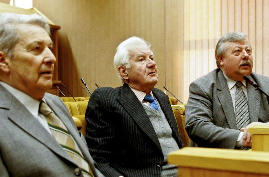 Vladimiras Beriozovas (iš kairės), Lionginas Šepetys