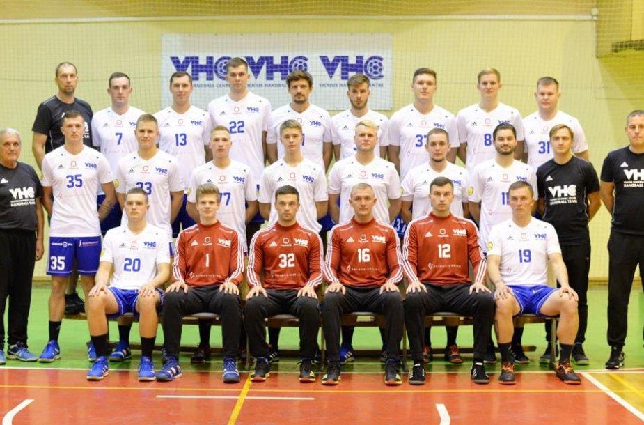 """Vilniaus """"Šviesa"""" pradeda kovas Europos rankinio Iššūkio taurės turnyre."""