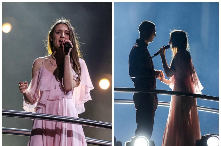 """Ieva Zasimauskaitė ir Marius Kiltinavičius """"Eurovizijos"""" pusfinalyje"""