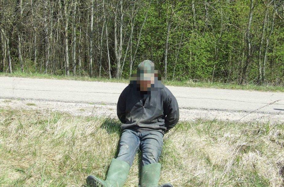 Sulaikytas kontrabandininkas