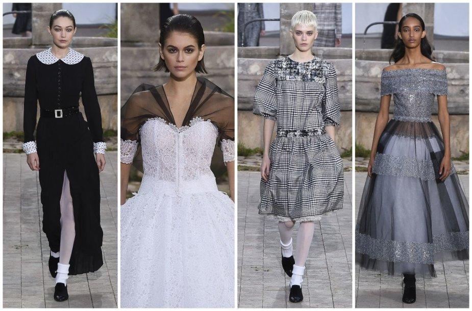 """""""Chanel"""" 2020 m. pavasario ir vasaros kolekcijos modeliai"""