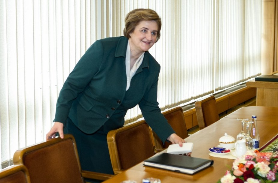 Seimo pirmininkė Loreta Graužinienė