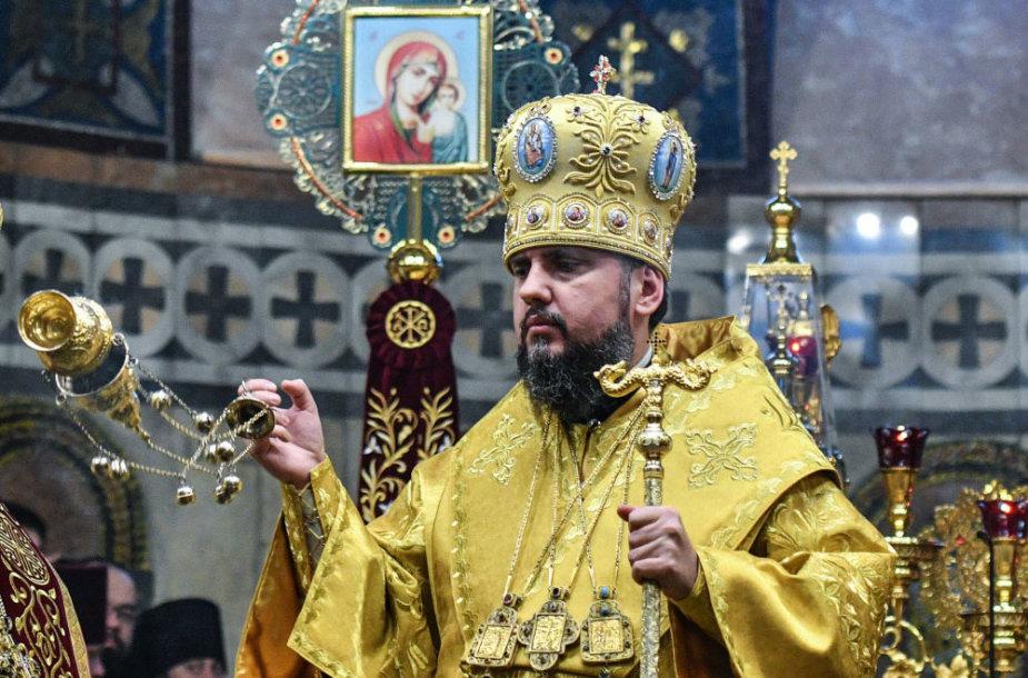 Ukrainos ortodoksų metropolitas Epifanijus