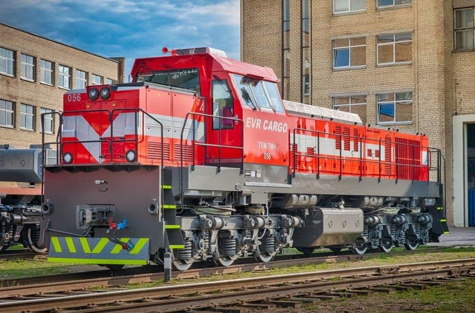 Vilniuje surenkami lokomotyvai TEM TMH