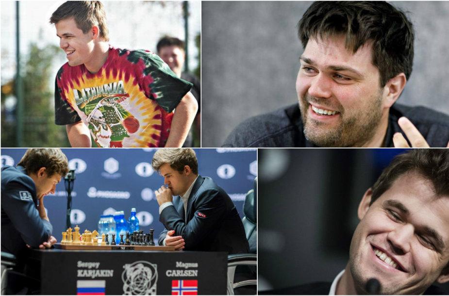 Planetos čempiono Magnuso Carlseno treneris lankėsi Lietuvoje