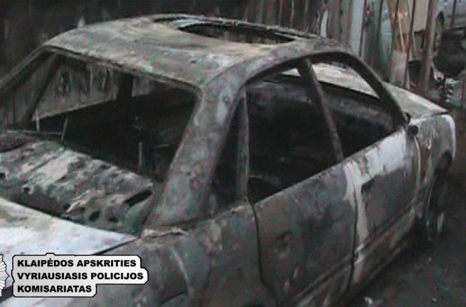Klaipėdos policija sučiupo padegėją