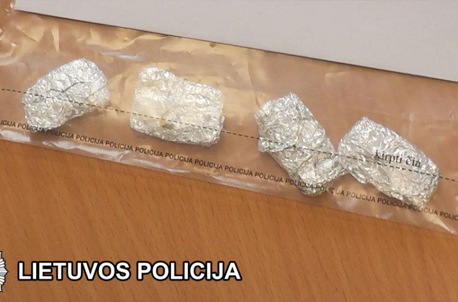 Sulaikyti narkotikai