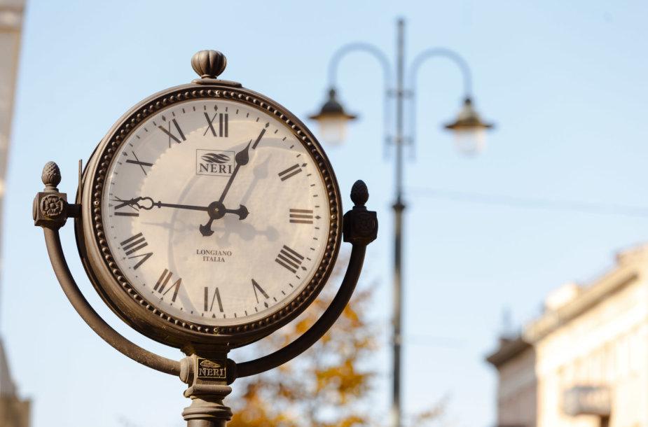 Laikrodžiai Vilniaus gatvėse