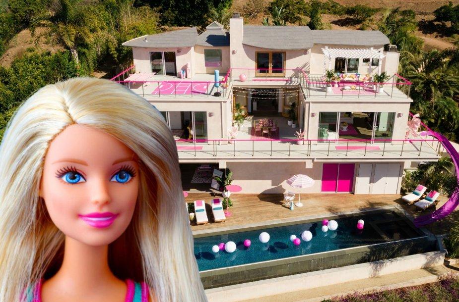 """""""Airbnb"""" siūlo galimybę apsistoti tikroje Barbės namo kopijoje Malibu"""