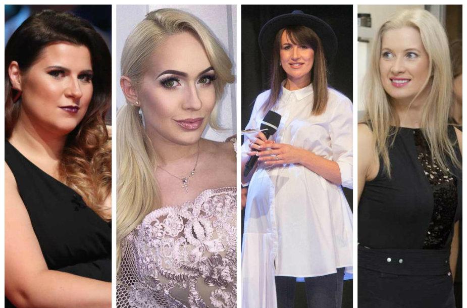 Erika Vitulskienė, Oksana Pikul-Jasaitienė, Katažina Zvonkuvienė ir Renata Norvilė